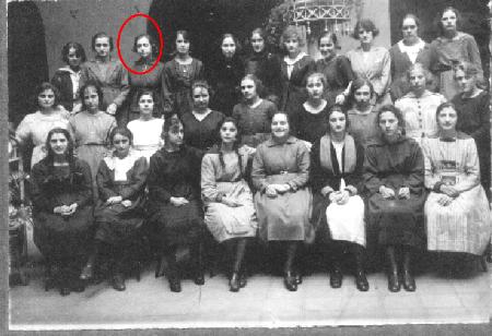 Amabilia en el Instituto de Señoritas de Montevideo