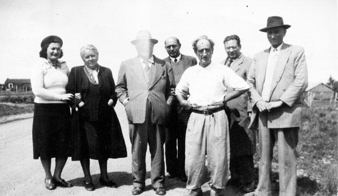 Campaña de 1950 junto al Dr. Mario Sobrero