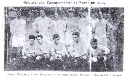 Selección Departamental de Rocha (1929)