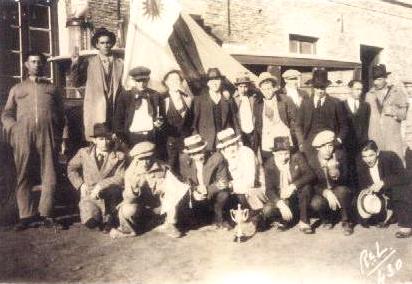 Combinado rochense viaja a Lascano (1931)