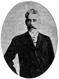 Postal que se comercializaba en la época, al igual que de todos los jefes saravistas (1904)