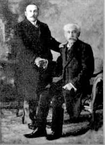 Miguel A- Pereyra, poco antes de su fallecimiento (Circa 1925)