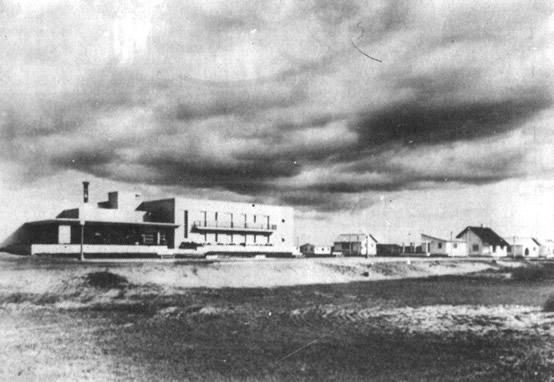 1938. Vista del Hotel Cabo Santa María (*)