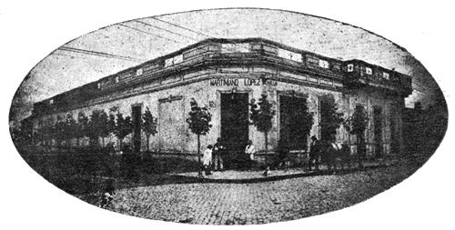 Antiguo comercio de Martiniano López (1908) donde se ubica hoy el museo