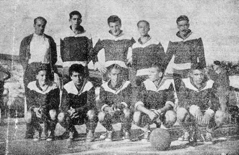 Equipo de CADER, campeón por sexta vez consecutiva (1956)