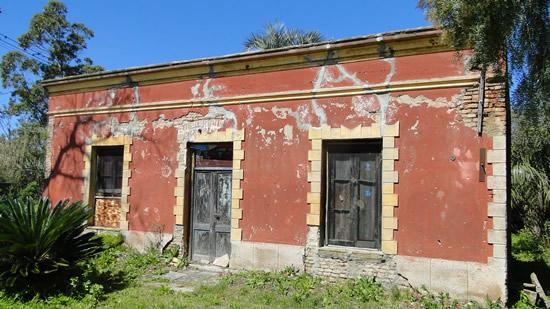 Una de las casas fundacionales