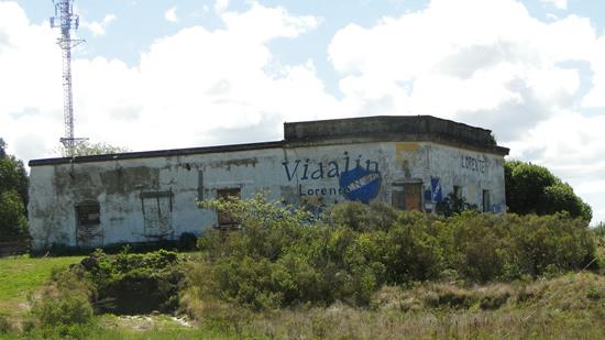 """Histórico comercio que perteneció a Domingo Fogliano (""""La Azotea"""")  y luego a Ángel Lopez, sobre Ruta 9"""
