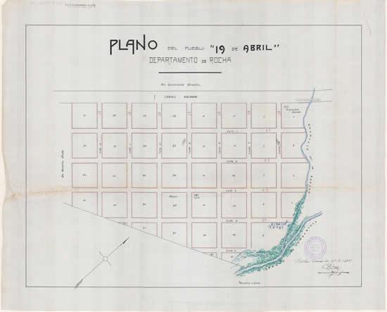 Primer plano oficial de 19 de Abril (Víctor Grille, 21 de diciembre de 1914)