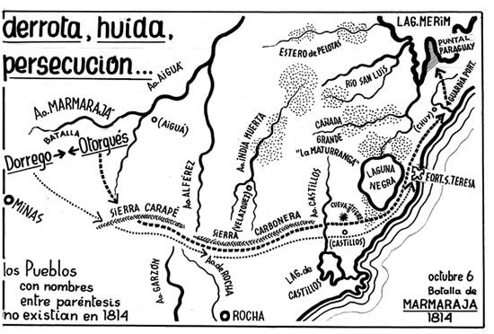 La ruta al asilo de Otorgués
