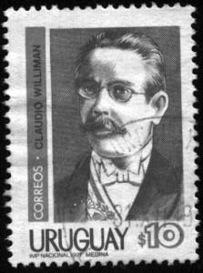 José Claudio Williman, Presidente de la República (1907-1911) - Sello en homenaje