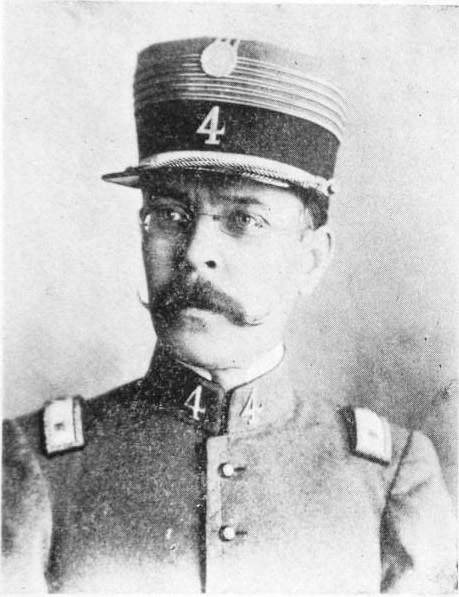 El Dr. Williman, Jefe del 4º de Guardias Nacionales en 1904
