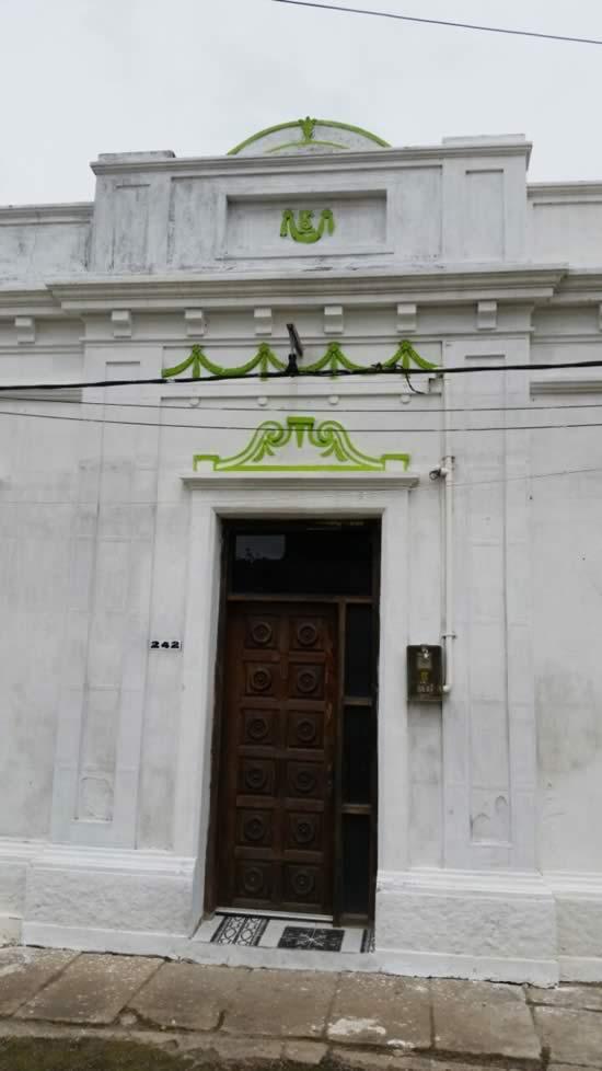 Casa de Eugenio Silvera construída por García en 18 de Julio