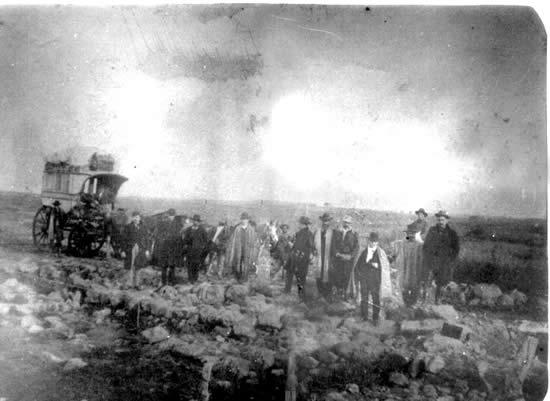 Diligencia donde retornaron algunos de los caídos rochenses en Masoller (1905)