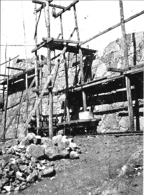 Otra vista de la citada reconstrucción