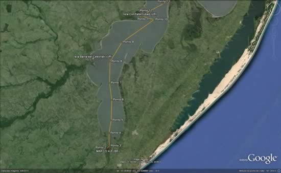 Nuevo límite sobre Laguna Merín (1909)