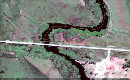 Nuevo límite sobre el arroyo San Miguel (1913)
