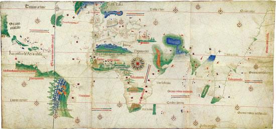 Mapa de Cantino (1502)