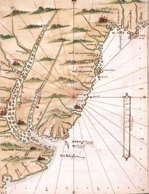 Mapa de Alonso de Santa Cruz.