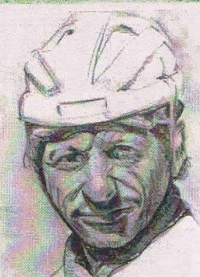 Jorge Sosa, símbolo de la hinchada.