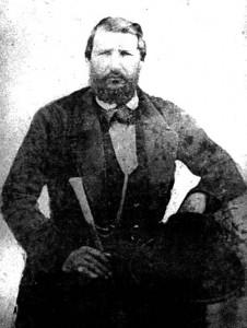 Cnel. Bernardino de la Cruz Olid y Velázquez (1815-1864).