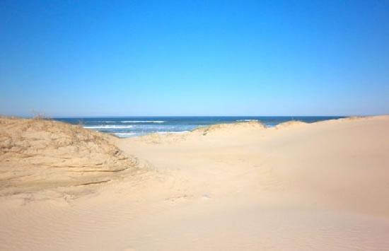 Las finas arenas de Punta del Diablo