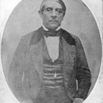 Único daguerrotipo conocido del Gral Rivera.