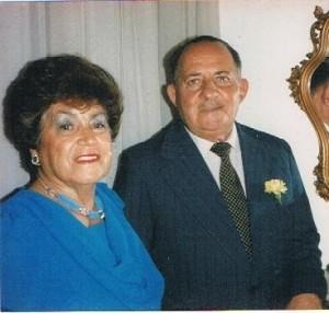 Carlos Sosa y su señora