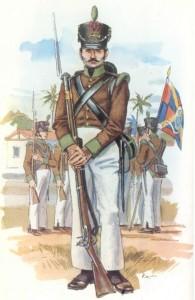 Cazador de infantería portuguesa (1816)
