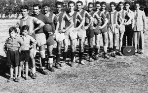 Equipo de Progreso, campeón de Rocha, 1947