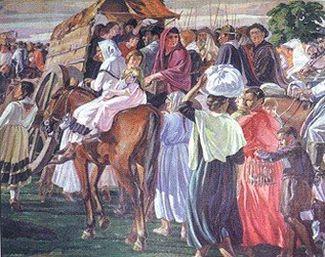 El Éxodo (fragmento) por Guillermo Rodríguez