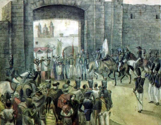 Ingreso de las fuerzas portuguesas a Montevideo (1817)