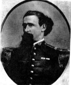 Coronel Lorenzo Latorre, hombre fuerte del país. Asumió como dictador un mes después de la fundación de Lascano
