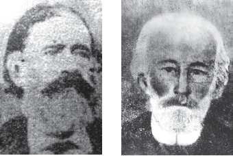 Francisco Lascano y Francisco Antonio Fernàndez