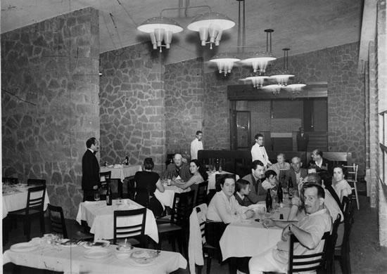 Comedor Costas del Mar (aprox. 1966)