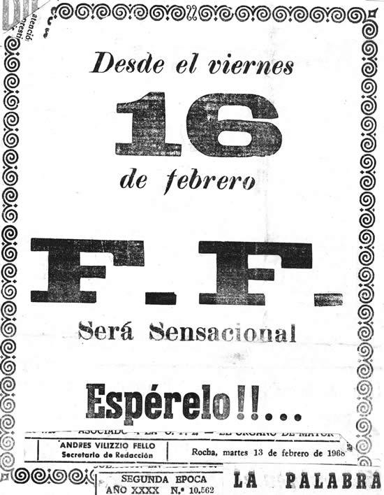 """Propaganda de venta aniversario en el diario """"La Palabra"""""""