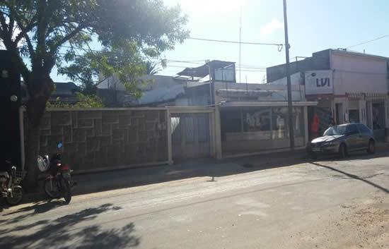 Frente de último local de Sucursal Castillos, fotografía actual
