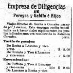 Empresa de diligencias de Pereyra y Gabito e Hijos de Rocha (1911)