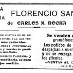 Librería y Papelería Florencio Sánchez de Rocha (1915)