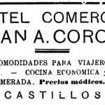 Hotel Comercio de Castillos (1937)