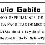 Dr. Julio Gabito Farías de Rocha (1955)
